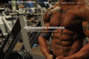 entrenamientos personales Web